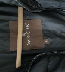 MONCLER črna bunda