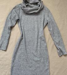 Siva rolka obleka UNI