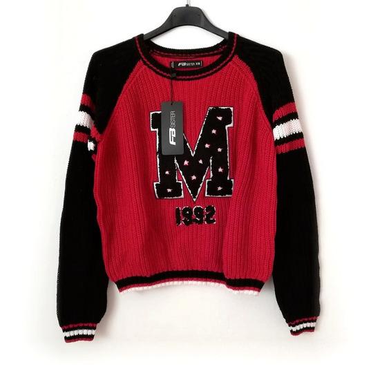 ZNIŽ.Nov pleten pulover