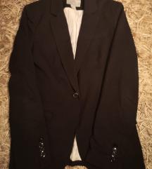H&m črn blazer
