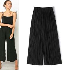 hlače Culottes črne  S,M,L