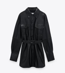 Usnjena obleka / plašč