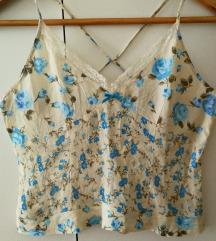 Svilena majica vel. S/M (ptt v ceni)