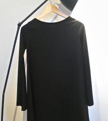 Črna večerna oblekica