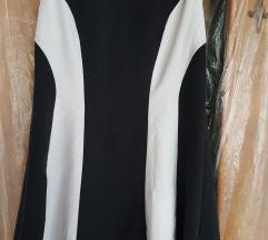 Črno-bela obleka, NEW!
