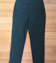 ZARA zelene hlače S