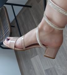 Nude sandali Jane Grey, vel 39