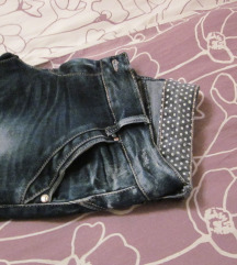 nove jeans riped hlače št-M