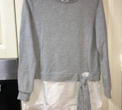 Pulover s srajcko