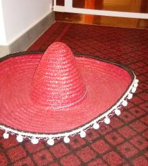 Rdeč Klobuk sombrero