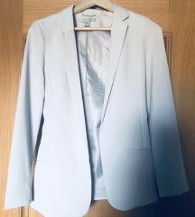 Sivi blazer/suknjič