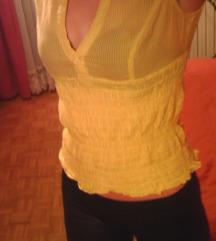 Tally Weijl rumena srajčka