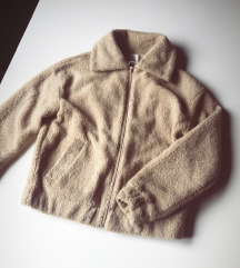 Teddy coat  Stradivarius NoV
