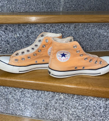 🍑 Oranžne / peachy Converse All Star superge