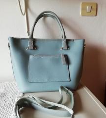 Svetlo modra torbica