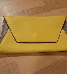 Rumena Zara pisemska torbica