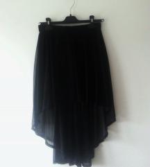 H&M črno krilo