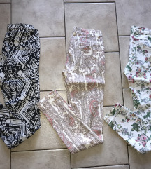 ZARA, H&M hlače