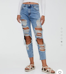 Jeans mom fit hlace