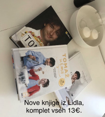 Komplet treh novih kuharskih knjig Lidl