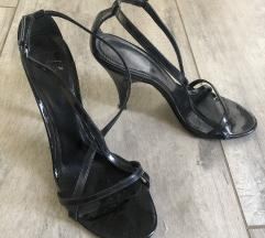 Črni Burberry sandali