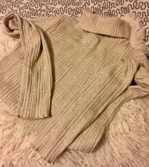 rjav pulover, Bershka