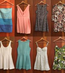 Kratke in dolge oblekce