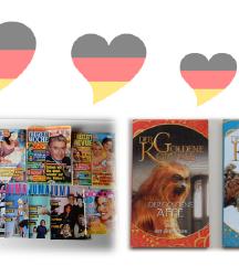 NEMŠČINA ■2x knjižici + 10 revij ■VSE v kompletu