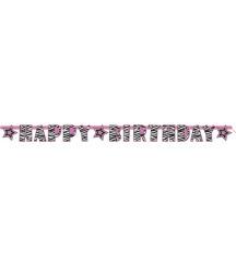 Napis happy birthday 2,90€