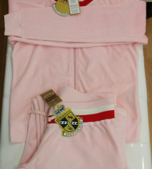 JUICY COUTURE, KOMPLET, HLAČE, JOPA, ORIG.