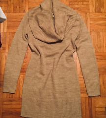 H&M bež pulover - obleka M/38